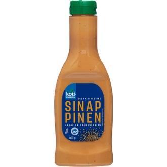 Kotimaista 400G Sinappinen Salaattikastike ravintosisältö ja kalorit